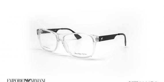 عینک طبی امپریو آرمانی - EMPORIO ARMANI EA9680 - سبز - عکاسی وحدت - زاویه سه رخ