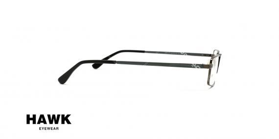 عینک طبی هاوک - HAWK HW 7177 - عکاسی وحدت - زاویه سه رخ