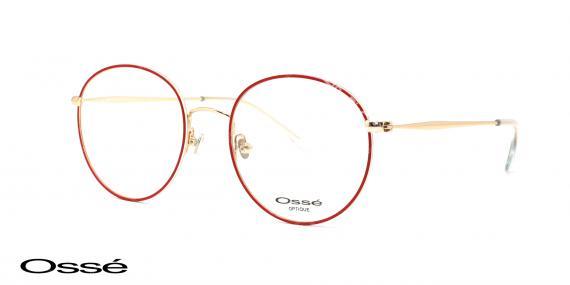 عینک طبی گرد اوسه os12039 - وحدت اپتیک - عکس از زاویه سه رخ