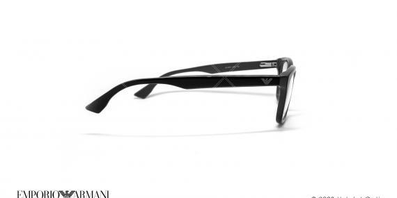 عینک طبی مربعی امپریو آرمانی - Emporio Armani EA9673 - مشکی - عکاسی وحدت - زاویه کنار