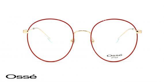 عینک طبی گرد اوسه os12039 - وحدت اپتیک - عکس از زاویه روبرو
