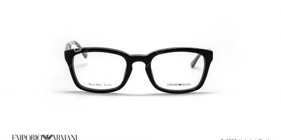 عینک طبی مربعی امپریو آرمانی - Emporio Armani EA9673 - مشکی - عکاسی وحدت - زاویه روبرو