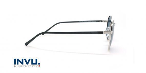 عینک آفتابی پلاریزه اینویو - INVU Polarized B1914 - نقره ای - عکاسی وحدت - زاویه کنار