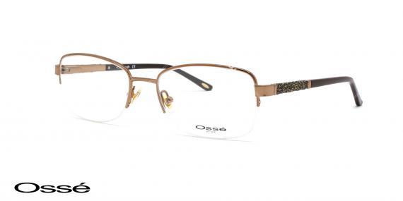 عینک طبی زیرگریف اوسه os11866 - اپتیک وحدت - عکس از زاویه سه رخ
