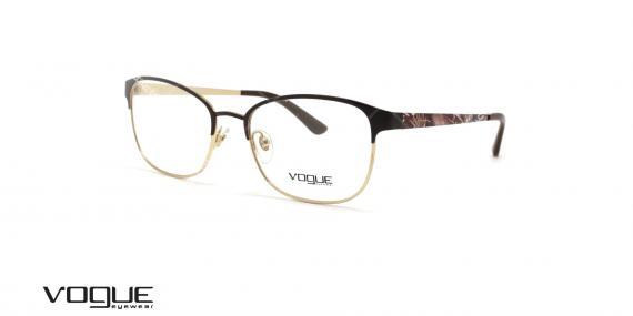 عینک طبی زنانه وگ - VOGUE VO4072 - عکاسی وحدت - عکس زاویه سه رخ