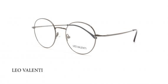 عینک طبی گرد لئو ولنتی - LEOVALENTI LV452 - عکاسی وحدت - عکس زاویه روبرو