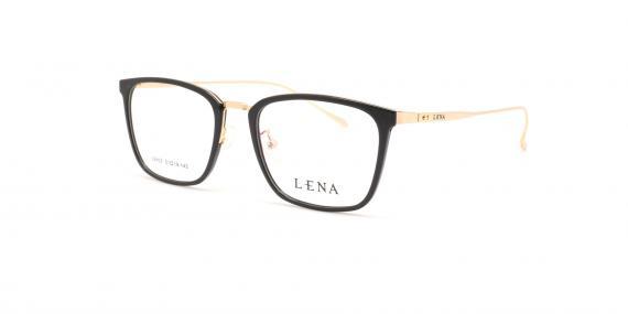 عینک طبی لنا - LENA LE403 - مشکی طلایی - عکاسی وحدت - عکس زاویه سه رخ