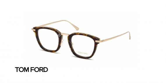 عینک طبی ام فورد - TOM FORD TF5496 - عکاسی وحدت - عکس زاویه سه رخ