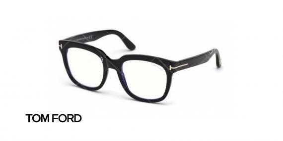 عینک طبی تام فورد  - TOM FORD TF5537B - عکاسی وحدت - عکس زاویه سه رخ