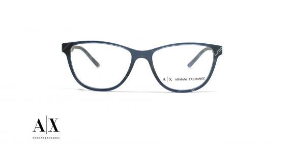 عینک طبی آرمانی اکسچنج - ARMANI EXCHANGE AX3047 - عکاسی وحدت - عکس زاویه روبرو