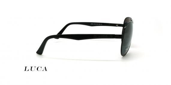 عینک آفتابی خلبانی لوکا -LUCA 8009- عکاسی وحدت - عکس زاویه کنار