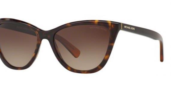 عینک آفتابی مایکل کورس مدل Divya - رنگ قهوه ای - زاویه سه رخ