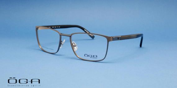 عینک طبی اگا از گروه مورل - عکاسی وحدت - زاویه سه رخ - 10039O