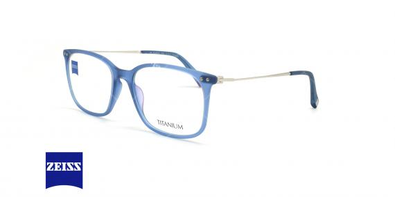 عینک طبی تیتانیومی زایس ZEISS ZS20016 - آبی - عکاسی وحدت - زاویه سه رخ
