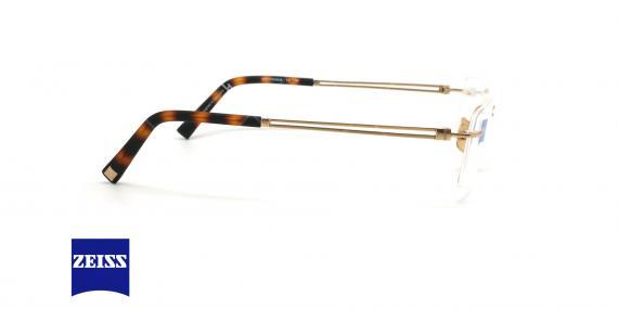 عینک طبی گریف زایس ZEISS ZS60002 - طلایی - عکاسی وحدت - زاویه کنار