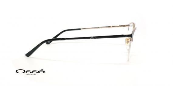 عینک طبی گربه ای اوسه - Osse Os11857 - مشکی - عکاسی وحدت - زاویه کنار