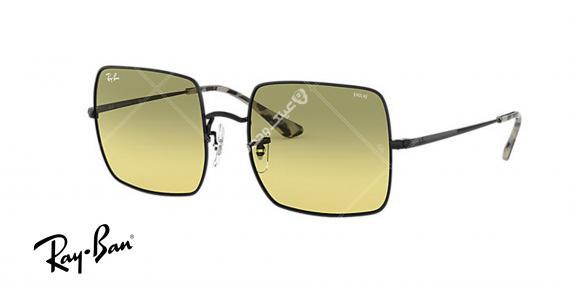 عینک آفتابی ری بن EVOLVE RB1971- فریم مشکی و عدسی سبز - اپتیک وحدت - عکس از زاویه روبرو