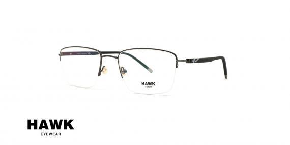 عینک طبی هاوک - HAWK HW7200 - عکاسی وحدت - زاویه سه رخ