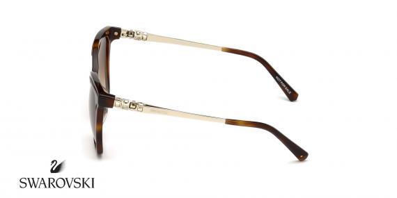 عینک آفتابی گربه ای سواروسکی -  SWAROVSKI SW154H- اپتیک وحدت - عکس زاویه کنار
