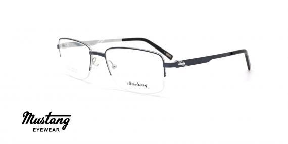 عینک طبی زیرگریف موستانگ - MUSTANG MU6765 - عکاسی وحدت - عکس زاویه سه رخ