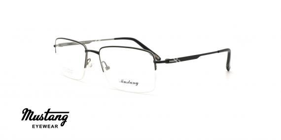 عینک طبی زیرگریف موستانگ - MUSTANG MU6767 - عکاسی وحدت - عکس زاویه سه رخ