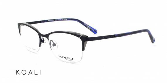 عینک طبی کوالی - اپتیک وحدت - عکس از زاویه سه رخ