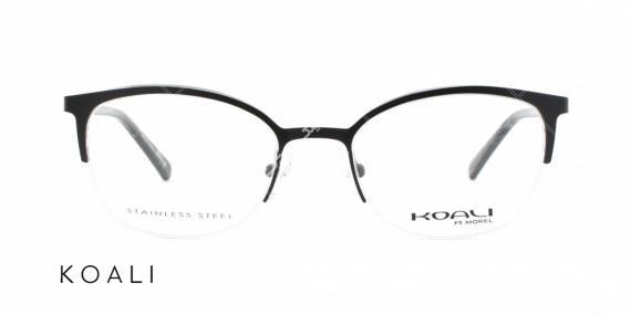 عینک طبی زیرگریف کوالی - اپتیک وحدت - عکس از زاویه سه رخ