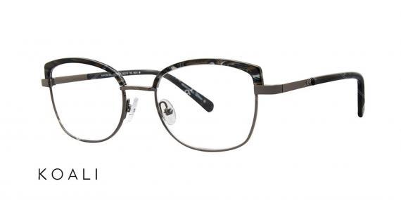 عینک طبی پروانه ای کوالی - KOALI 20024K - اپتیک وحدت - عکس زاویه سه رخ