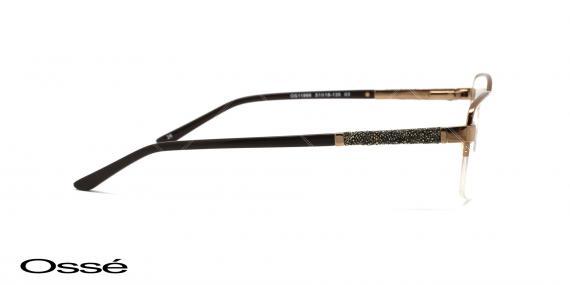 عینک طبی زیرگریف اوسه os11866 - اپتیک وحدت - عکس از زاویه کنار