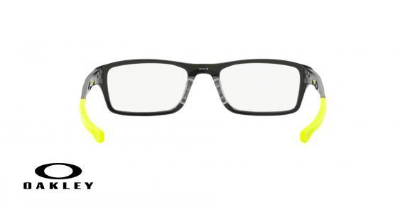 عینک طبی اوکلی - مشکی زرد - ویژه فروش آنلاین - زاویه داخل