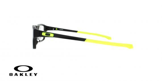 عینک طبی اوکلی - مشکی زرد - ویژه فروش آنلاین - زاویه کنار