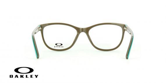 عینک طبی اوکلی - از داخل کرمی از بیرون آبی - ویژه فروش آنلاین - زاویه داخل