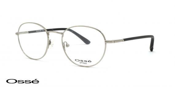 عینک طبی گرد اوسه os12005 - اپتیک وحدت - عکس از زاویه سه رخ