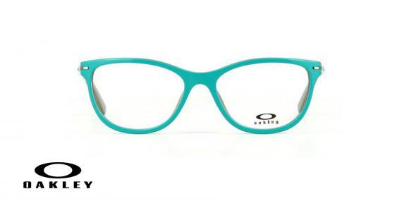 عینک طبی اوکلی - از داخل کرمی از بیرون آبی - ویژه فروش آنلاین - زاویه رو به رو