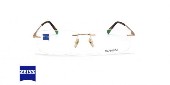 عینک گریف تیتانیومی زایس - ZEISS ZS60003 - رنگ سورمه ای - عکاسی وحدت - عکس زاویه روبرو