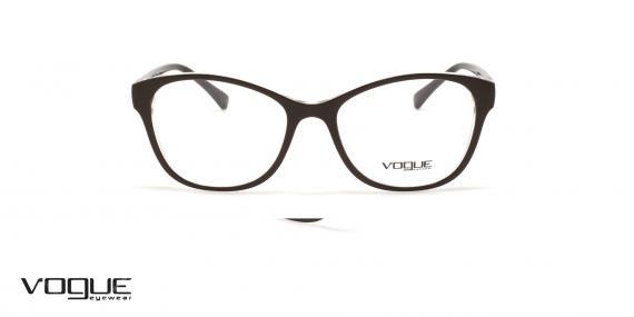 عینک طبی گربه ای زنانه وگ - VOGUE VO5169 - رنگ قهوه ای - عکاسی وحدت - عکس زاویه روبرو