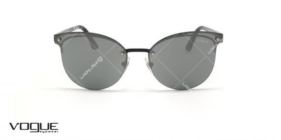 عینک آفتابی گربه ای وگ - VOGUE VO4089S - رنگ مشکی - عکاسی وحدت - عکس زاویه روبرو