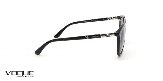 عینک آفتابی دوپل وگ - VOGUE VO5164S - رنگ مشکی - عکاسی وحدت - عکس زاویه کنار