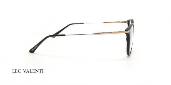 عینک طبی لئو ولنتی - LEOVALENTI LV465 - عکاسی وحدت - عکس زاویه کنار