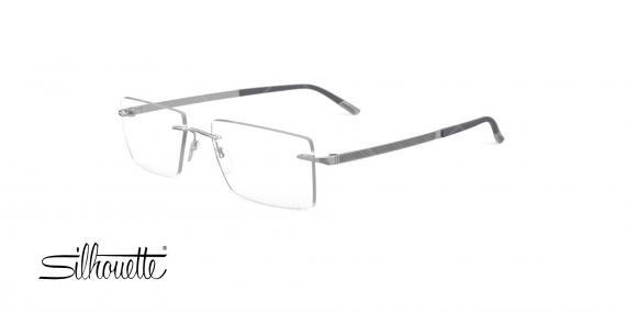 عینک طبی روکش طلا گریف سیلوئت - Silhouette 5528GN - عکاسیوحدت - عکس زاویه سه رخ
