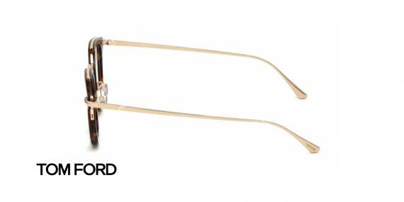عینک طبی ام فورد - TOM FORD TF5496 - عکاسی وحدت - عکس زاویه کنار