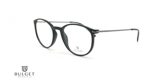 عینک طبی گرد بولگت - BULGET BG4091 - عکاسی وحدت - عکس زاویه سه رخ
