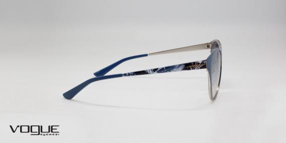 عینک آفتابی وگ مدل VO 4078-S با کد رنگ 50707B زاویه کنار - عکاسی شده توسط اپتیک وحدت