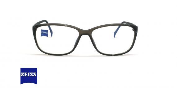 عینک طبی کائوچویی زایس ZEISS ZS10005 - مشکی - عکاسی وحدت - زاویه روبرو