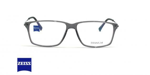 عینک طبی تیتانیوم زایس ZEISS ZS20010 - طوسی - عکاسی وحدت - زاویه روبرو