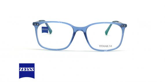 عینک طبی تیتانیومی زایس ZEISS ZS20016 - آبی - عکاسی وحدت - زاویه روبرو