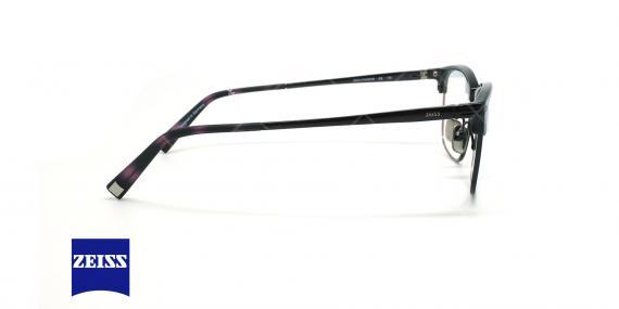 عینک طبی تیتانومی زایس ZEISS ZS30008 - مشکی - عکاسی وحدت - زاویه کنار