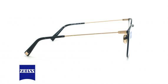 عینک طبی تیتانیومی زایس ZEISS ZS40015 - مشکی - عکاسی وحدت - زاویه کنار