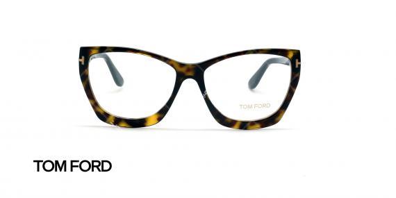 عینک طبی گربه ای تام فورد - Tom Ford TF5520 - عکاسی وحدت - عکس زاویه روبرو