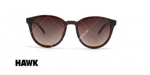 عینک آفتابی پلاریزه هاوک - HAWK POLARIZED HW1632 - قهوه ای - عکاسی وحدت - زاویه روبرو